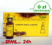 Fohow Oral Liquid -  Eliksir Kordiceps do picia